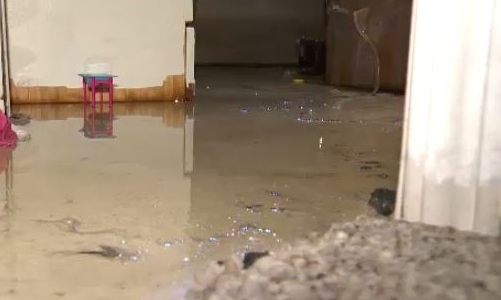 basement flood clean up
